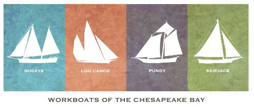 Workboats of the Chesapeake Bay Greeting Card