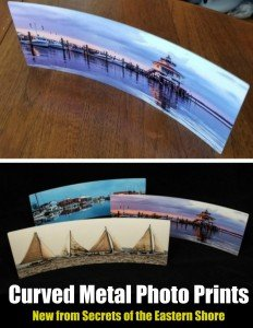 Curved Metal Photo Prints by Secrets of the Eastern Shore