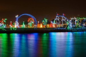 Winterfest of Lights in Ocean City, Maryland