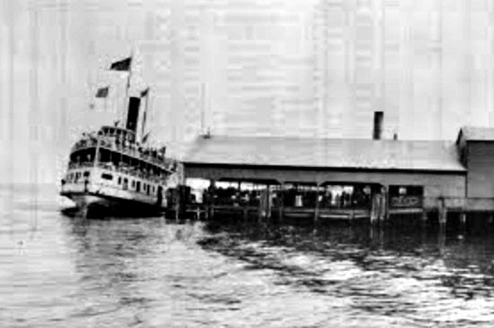The steamboat Westmoreland at Love Point on Kent Island in Stevensville, Maryland