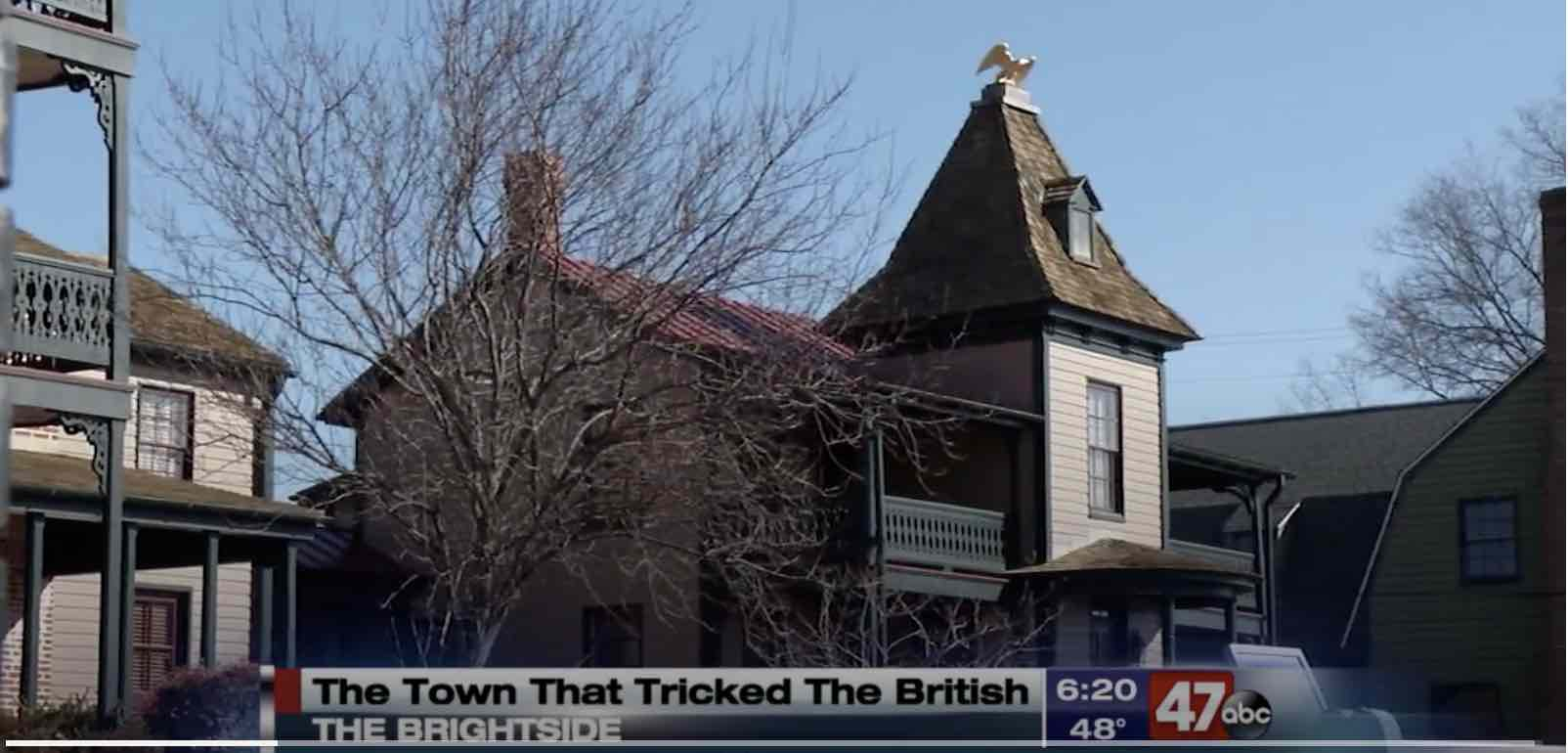 "Secrets of the Eastern Shore Featured on WMDT-TV Story About St. Michaels, ""The Town That Fooled the British"""