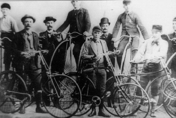 Wheelmen in the 1890s