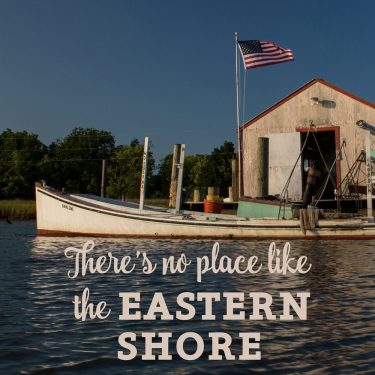 Eastern Shore Boat Shanty Canvas Block