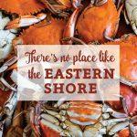 Eastern Shore Crabs Canvas Block