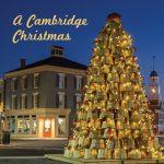 Crab Basket Christmas Tree Canvas Block (Cambridge)