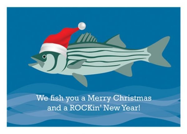 Rockfish Christmas Card