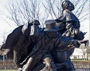 Tubman Garrett Statue in Wilmington, Delaware