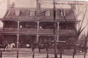 The Brick Hotel in Georgetown Delaware