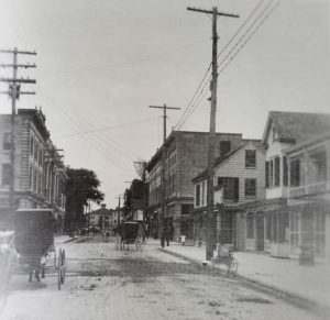 Downtown Cambridge in Time of Lee Fong Sometime After 1911