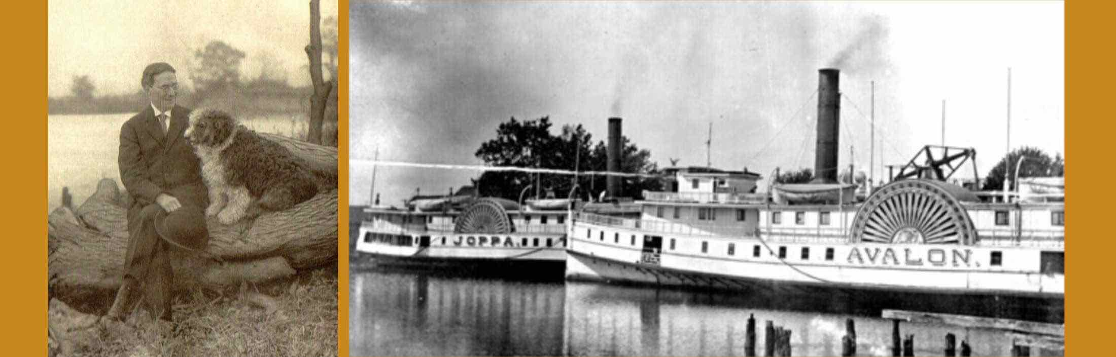 ODE TO THE STEAMBOATS: 'When the Bay Boats Blow'