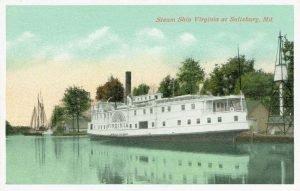 Steamboat Virginia at Salisbury Md