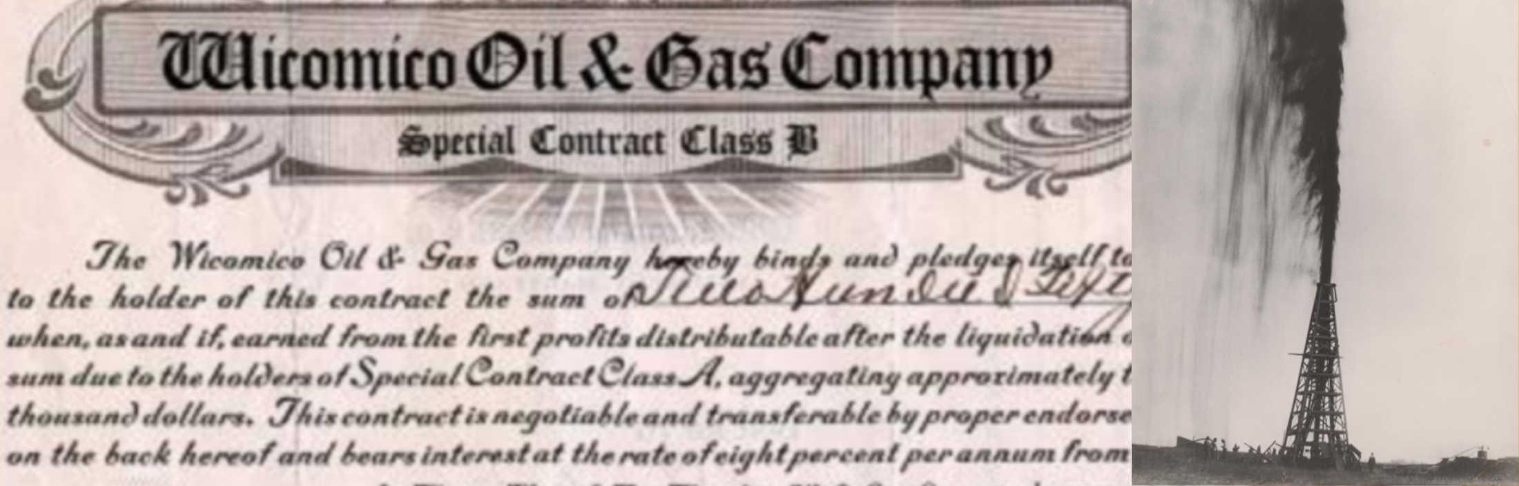 BLACK GOLD IN PARSONSBURG! The Delmarva Oil Craze of the Early 1900s