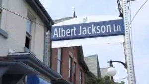 Albert Jackson Lane named after man from Milford, Del.