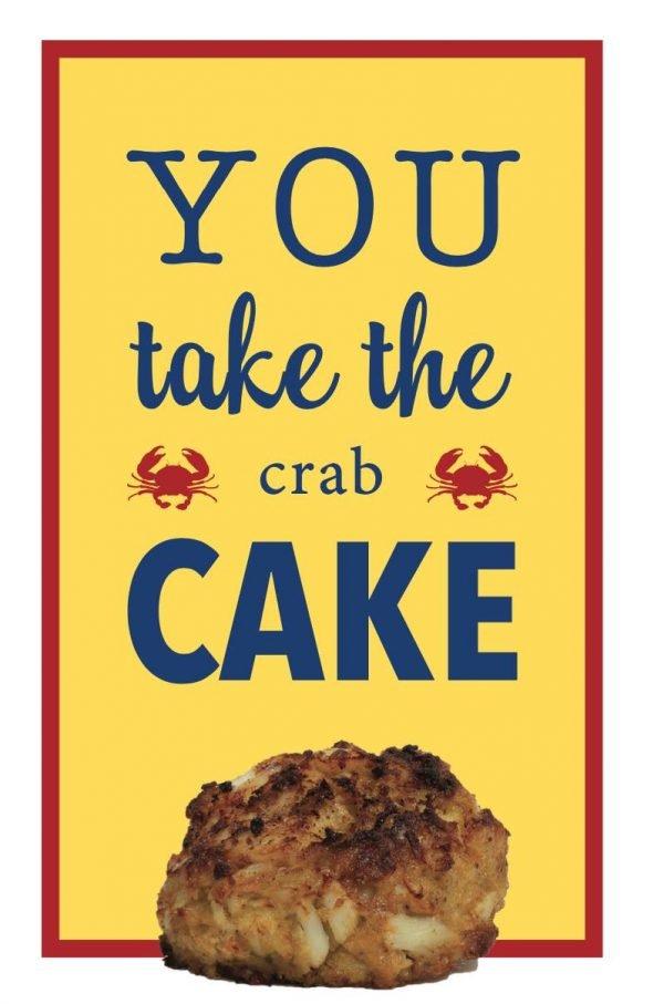 You Take the (Crab) Cake