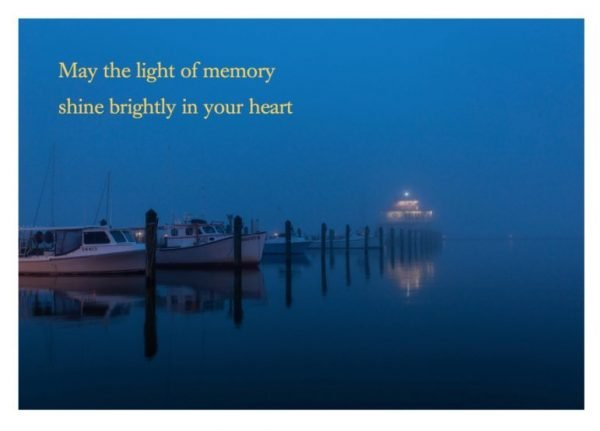 The Light of Memory Greeting Card Product Photo