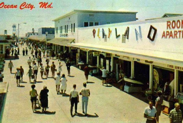 Photo of Ocean City Boardwalk for Labor Day Riot Featured Photo