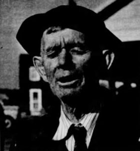 Hurvey Mezick of Fruitland in his 70s