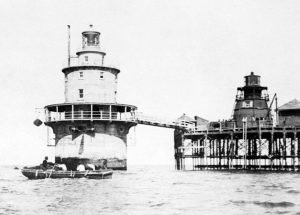 Brandywine Shoal New and Old Side by Side in 1914