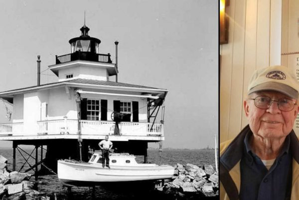 Jack Messick Memories of Life on the Choptank River Lighthouse