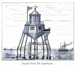 Maplin Sands Screwpile Lighthouse