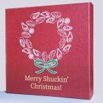 Merry Shuckin Christmas Canvas Block