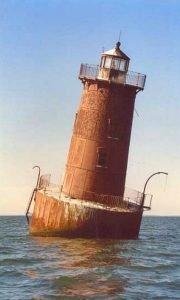 Sharps Island Light at Angle Today