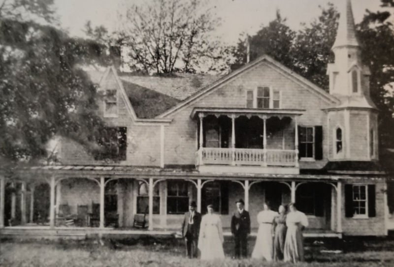 The Claiborne Hall boarding house in Claiborne, Md.