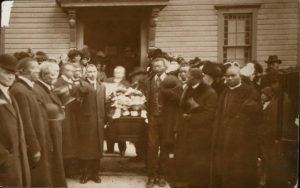 Harriet Tubman Funeral Exiting Church 1913
