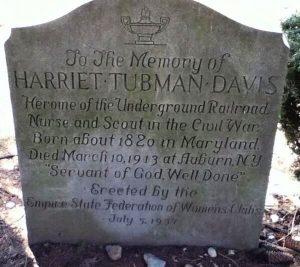 Harriet Tubman Grave Marker