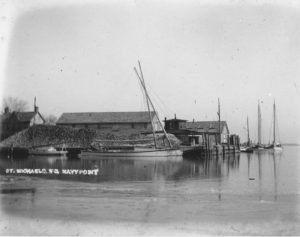 Coulbourne and Jewett This is what Navy Point in St. Michaels looked like in 1907 when company was new