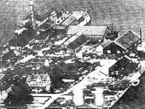 Navy Point in St. Michaels, Md. in 1929