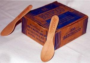 Bentwood Ice Cream Spoons