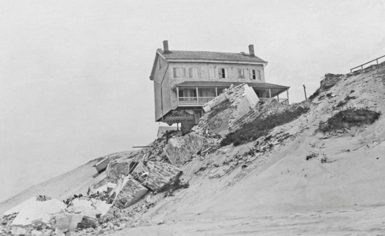 Cape Henlopen Lighthouse after Fall