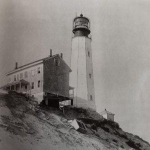 Cape Henlopen Lighthouse on the Edge
