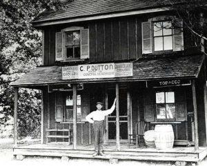 Country Store in Redden, Delaware, 1907