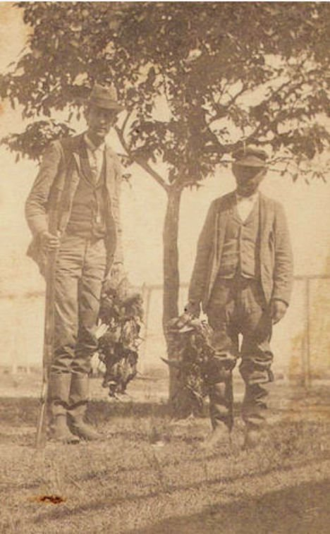 Hunting on Cobb Island 1890