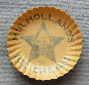 Mulholland Ice Cream Plate