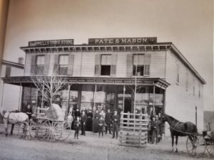 Pate and Mason Store in Parksley, Virginia