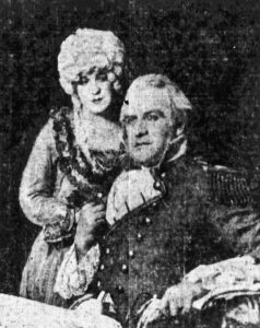 Dexter Truitt with Hilda Russell in Costumes for Civic Event (1)