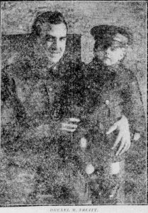 Drexel Truitt and Son Floyd 1918 Baltimore Son Photo Honoring WW1 Soldiers