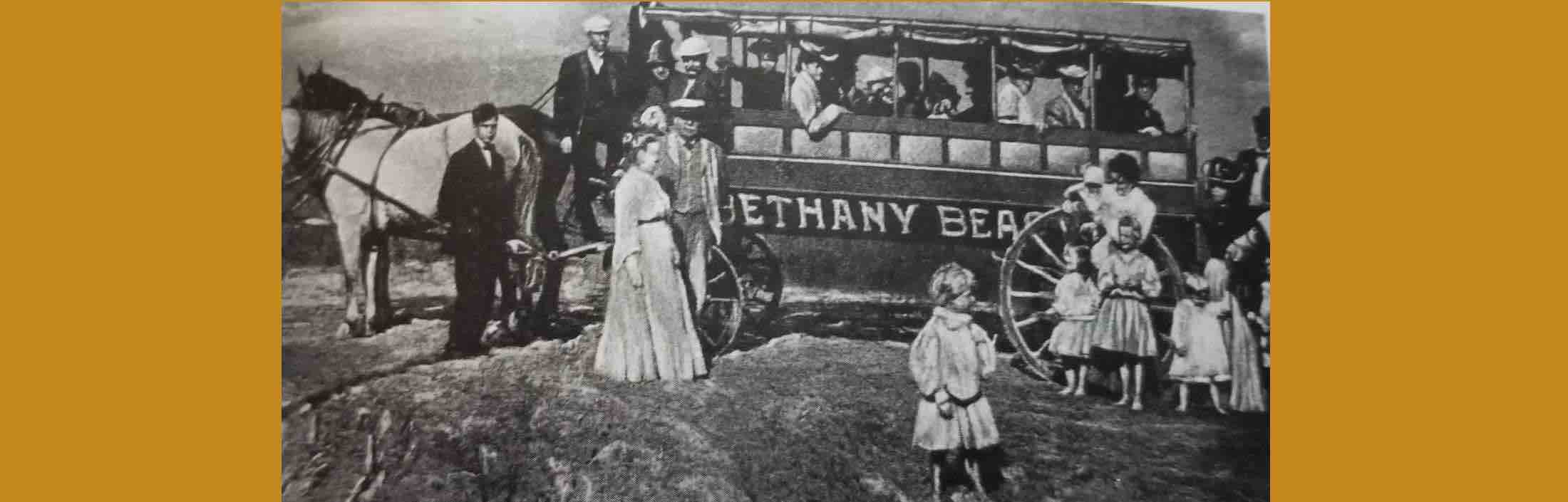 Traveling to Bethany Beach in its Early Days Was a Long, Bumpy, and Stinky Nightmare